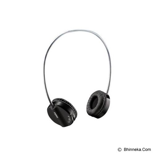 RAPOO Wireless Headset [H3050] - Black - Headset Pc / Voip / Live Chat